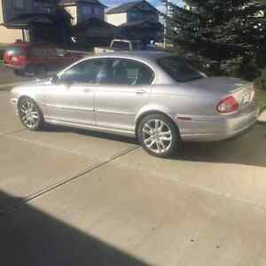 2002 Jaguar X-TYPE Silver Sedan