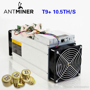 Antminer T9+ 10.5T with PSU brand new, warranty 6 months