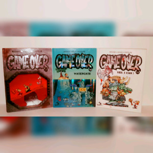 GAME OVER * Mad Fabric Book Series *# 9 / 10 / 11