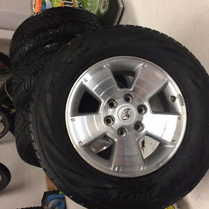 """17"""" Toyota Tacoma Wheels and Tires North Shore Greater Vancouver Area image 2"""