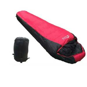 Brand New! -5°C Hooded Envelop SST Camping Sleeping Bag