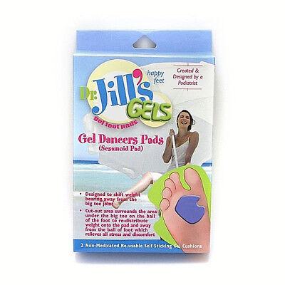 Dr. Jill's Gel Dancer's Pads 1/4