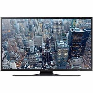 Samsung UN75JU6500 75-Inch 4K Ultra HD Smart LED TV Includes stand, remote control and original box.NEW condition.