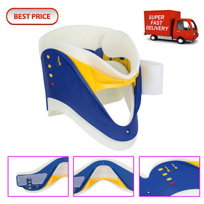 Best Adjustable Neck Collar Cervical Neck Brace Support Fixture 4-1 Pain Relif Fixture Support Brace