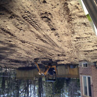 Excavation and lot grading service