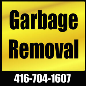 Garbage Removal   416-704-1607