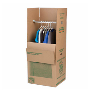 U-Haul Grand Wardrobe Boxes - 10 - very clean and only used once