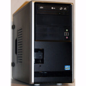 Custom Built Desktop PC i3 3.10GHz 4GB RAM 250GB HDD DVDRW