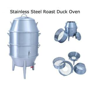 Stainless Steel Charcoal Roast Duck Oven 220094