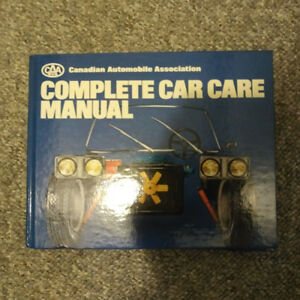 Complete Car Care Manual - CAA