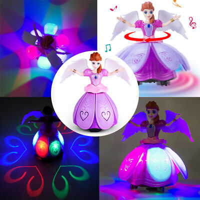 9 Year Old Girl Toys (Toys For Girls LED Robot Dance Doll 2 3 4 5 6 7 8 9 Year Age Old Xmas Cool)