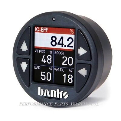 """BANKS iDASH 1.8"""" SUPER GAUGE; STAND ALONE 2008-18 CHEVY FORD DODGE JEEP"""
