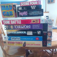 Assorted Board & Electronic Games