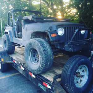 Jeep Tj 1999 for sale
