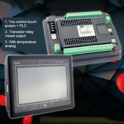 """PLC Controller Programmable Logic Controller 5"""" HMI Touch Screen For Industrial"""