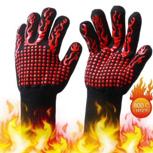 Microwave Oven Insulation 800 Degrees Heat-resistant Gloves