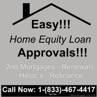 We Help with 2nd Mortgages, Renewals, Refinance