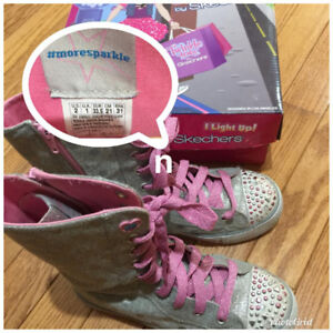 I Light up! Skechers Twinkle Toes Size 2 $20