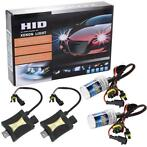 Xenon kit set verlichting H7 10000K 55W + ballast HID slim c