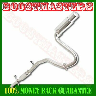 """Stainless Catback Exhaust Muffler 4"""" Tip For 05-07 Scion TC Base Coupe 2D 2.4L"""