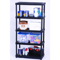 WHITE- Plastic Shelving for Garage or Shed
