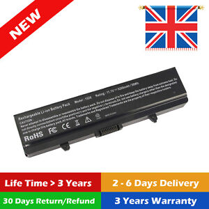 6CELL Battery for Dell Inspiron 1525 1526 1440 1545 1546 1750 GW240 X284G UK OO