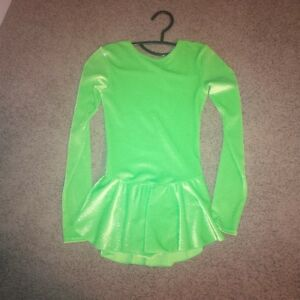 Sparkly Lime Green Figure Skating Dress London Ontario image 1