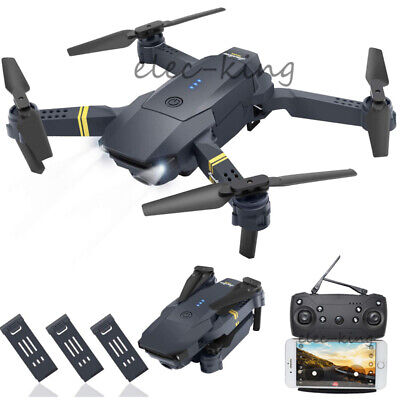 Cooligg S168 1080P Wifi HD Camera Drone Foldable Quadcopter Selfie FPV Batteries