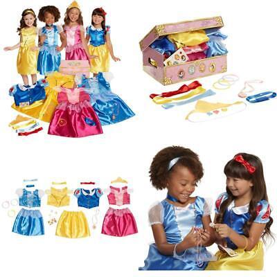 Little Girls Fun Pretend Play Disney Princess Dress - Little Girl Dress Up Trunk