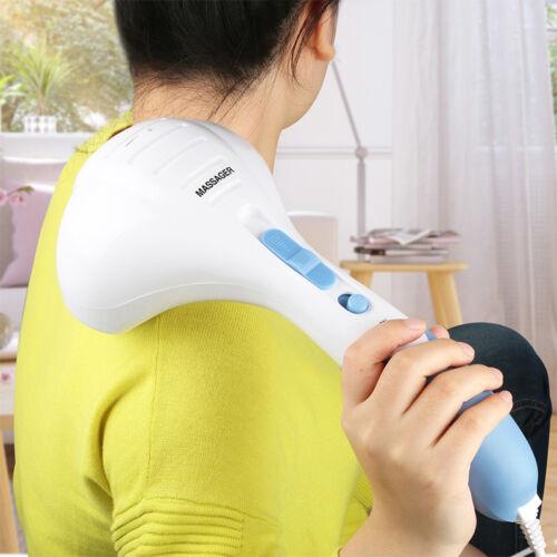 Handheld Full Body Electric Percussion Massager Deep Tissue Pain Relief Shiatsu