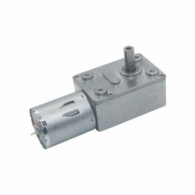 Drive Reduction Gear Motor 6v 12v 24v 2rpm To 150rpm Dc Worm Low Speed Diy 24kg