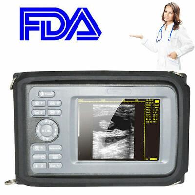 Digital Veterinary Vet Portable Ultrasound Scanner Machine For Cowhorseanimal