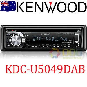 KENWOOD KDC-U5049DAB CD MP3 AUX & USB IPHONE CAR DIGITAL DAB + RADIO