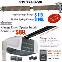 Affordable Garage Door Services. We Install, Repair, and Replace