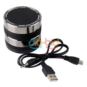 Mini-Super-Bass-Bluetooth-Wireless-Speaker-TF-Card-FM-For-Cellphone-Mp3-US-Black