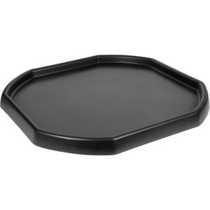 LARGE BLACK PLASTIC MIXING TRAY SAND WATER PLAY CHILDREN - BUILDERS EQUIPMENT