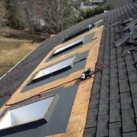 Dryhome Roofing - Shingle Repairs and Replacements - Flat Roofs