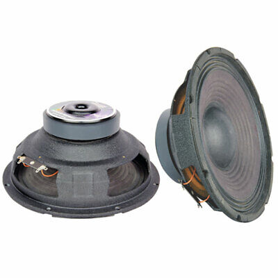 5 Core PRO AUDIO 10″ RAW Replacement DJ Sub Woofer Loud Speaker 8 OHM FULL RANGE Car Audio
