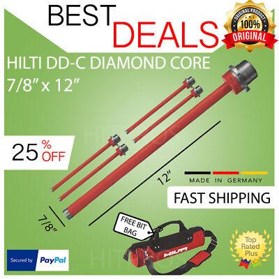 Hilti Diamond Core Bit Dd-c 273278 X 12 T4 5 Packnew Fast Shipping