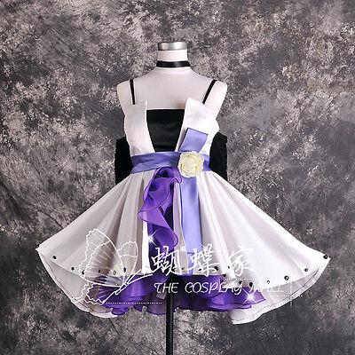 Vocaloid Camellia Kamelie Haku Cosplay Kostüm Abend kleid Gothic Lolia Lila