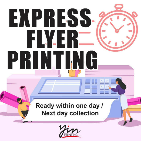 Express Flyer Printing Ready within one day Next day collection Name Card Poster Banner