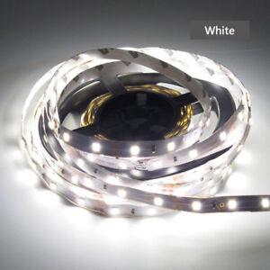 5M Cool White 300 Leds 2835 Flexible Led Strip Lights DIY DC 12V