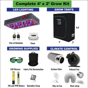 4' X 2' COMPLETE Grow Kit for Cannabis & Vegetables GrOh Canada