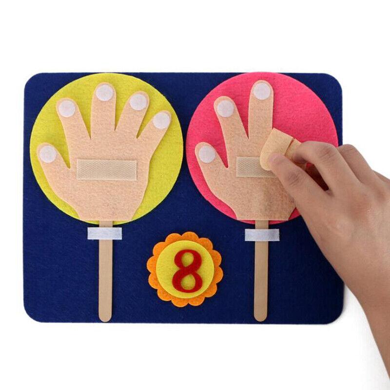 Handmade Material Pack Math Learning Teaching Aids Sticker N