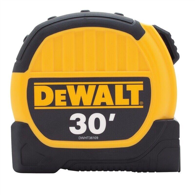 DEWALT DWHT36109 30' Tape Measure 10' Standout - HEAVY DUTY