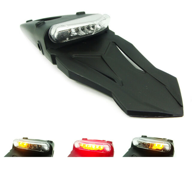 New LED Tail Light Integrated Indicators Kawasaki Supermoto KLX 300 450