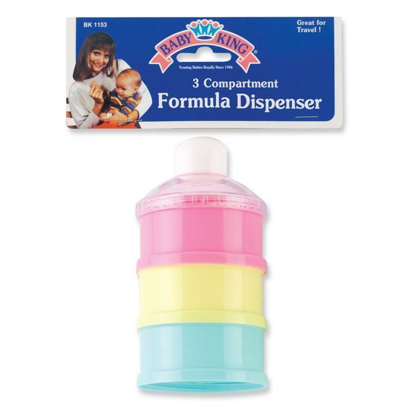 Baby King 3 Compartment Baby Formula Dispenser