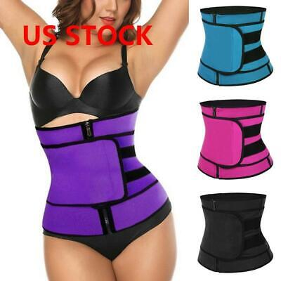 Sauna Slim Belt - Women Waist Trainer Vest Tank Workout Neoprene Sauna Slim Sweat Belt Body Shaper