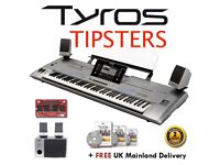 Used Tyros 5 (76) including MS05 speakers -FREE UK Mainland Delivery- 1 YEAR WARRANTY