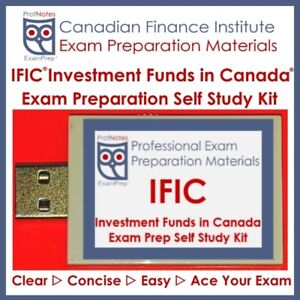 IFIC Investment Funds in Canada 2018 Exam Prep Textbook